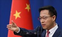 """美国将四家中国媒体列为""""外国使团"""",中国外交部:不得不作出必要正当反应"""