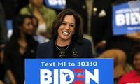 美国总统大选:拜登宣布选择哈里斯作为竞选搭档
