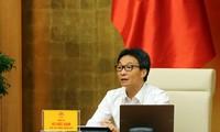 越南新冠肺炎疫情防控国家指导委员会召开会议