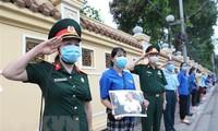 一些国家党政领导人就原越共中央总书记黎可漂逝世致唁电