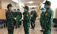 越南人民军代表团继续参加国际军事比赛