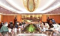 越南驻华大使范星梅会见中国国务委员兼国防部长魏凤和
