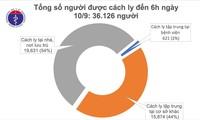 9月10日上午越南无新增新冠肺炎确诊病例