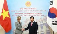 越南和韩国紧密配合落实高层领导人达成的共识