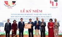 越南-德国友好协会成立35周年纪念会举行