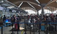 越南将滞留在马来西亚的290名公民接回国