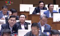 越南国会第二天讨论经济社会发展计划执行情况