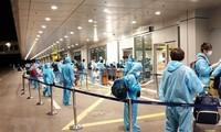 将在沙特阿拉伯的近280名越南公民接回国