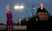 美国当选总统拜登悼念新冠死难者