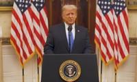 特朗普发表告别演讲