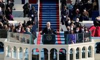 美国当选总统拜登宣誓就职 呼吁团结