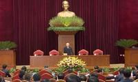 阮富仲当选越共第十三届中央委员会总书记