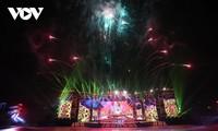 庆祝越共十三大圆满成功的艺术晚会在河内举行