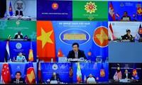 东盟外长就缅甸问题发表联合声明