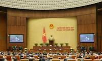越南国会听取2016-2021年任期工作报告