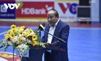2021年胡志明市发展商业股份银行杯室内五人制足球全国锦标赛开幕