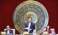 王庭惠与代表工作委员会座谈