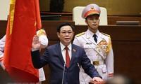 世界各国议会议长向越南国会主席王庭惠致贺