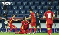 2022年世界杯亚洲区预选赛:越南队以4:0的比分大胜印度尼西亚队