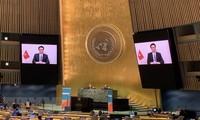越南在2021年联合国大会艾滋病问题高级别会议上分享经验