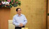 范明政主持政府常务与南部27个地方视频会议讨论防疫工作