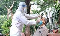 10月8日越南新增4806例新冠肺炎确诊病例