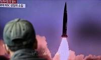 朝鲜确认发射一枚新型潜射弹道导弹