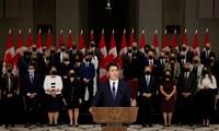 加拿大总理特鲁多公布新内阁名单