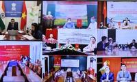 印度驻越大使馆与越南8个地方签署快速影响项目谅解备忘录