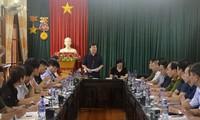 Crues : Trinh Dinh Dung en déplacement à Mu Cang Chai