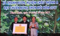 Hau Giang a sa 20ème commune néo-rurale