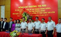 Truong Thi Mai en visite à Ho Chi Minh-ville