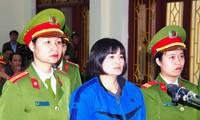 Maintien de la sentence de 9 ans de prison pour Trân Thi Nga