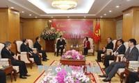 Truong Thi Mai se dit favorable à la reconnaissance d'organisations protestantes