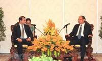 Le président de l'institut cubain d'amitié avec les peuples en visite à Hô Chi Minh-ville