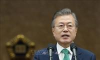 Pyongyang espère un second sommet avec Washington, selon Moon