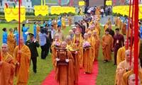 Célébration du 710e anniversaire de l'accession au Nirvana du Roi-Bouddha Trân Nhân Tông