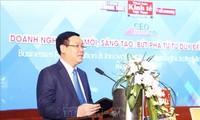 Le vice-PM Vuong Dinh Huê au Forum CEO 2019