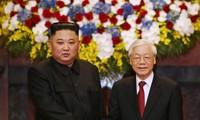 Nguyên Phu Trong félicite Kim Jong-un