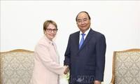 Nguyên Xuân Phuc reçoit la ministre brésilienne de l'Agriculture