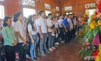 Camps d'été 2019 : les jeunes Vietkieu visitent le village natal du président Hô Chi Minh