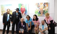 Ouverture du programme international d'échange et d'exposition des beaux-arts de Dà Nang