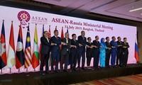 Pham Binh Minh aux réunions des ministres des Affaires étrangères entre l'ASEAN et ses partenaires