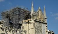 France: reprise du chantier de la cathédrale Notre-Dame de Paris