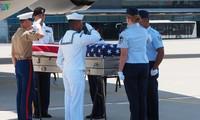 Le 151e rapatriement de soldats américains morts au Vietnam