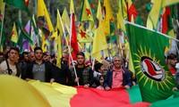 Des milliers de manifestants en France et en Europe dénoncent l'offensive turque en Syrie