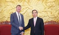 Vietnam - France : un responsable du PCV salue l'investissement de Total
