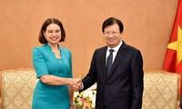 Renforcer la coopération Vietnam-Australie
