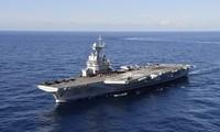 Macron annonce le déploiement du porte-avions Charles de Gaulle contre Daesh au Moyen-Orient