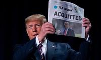 Acquitté, Donald Trump tire à boulets rouges sur le Parti démocrate